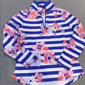 Joules 1/4 Zip Fleece Pullover/Size 6
